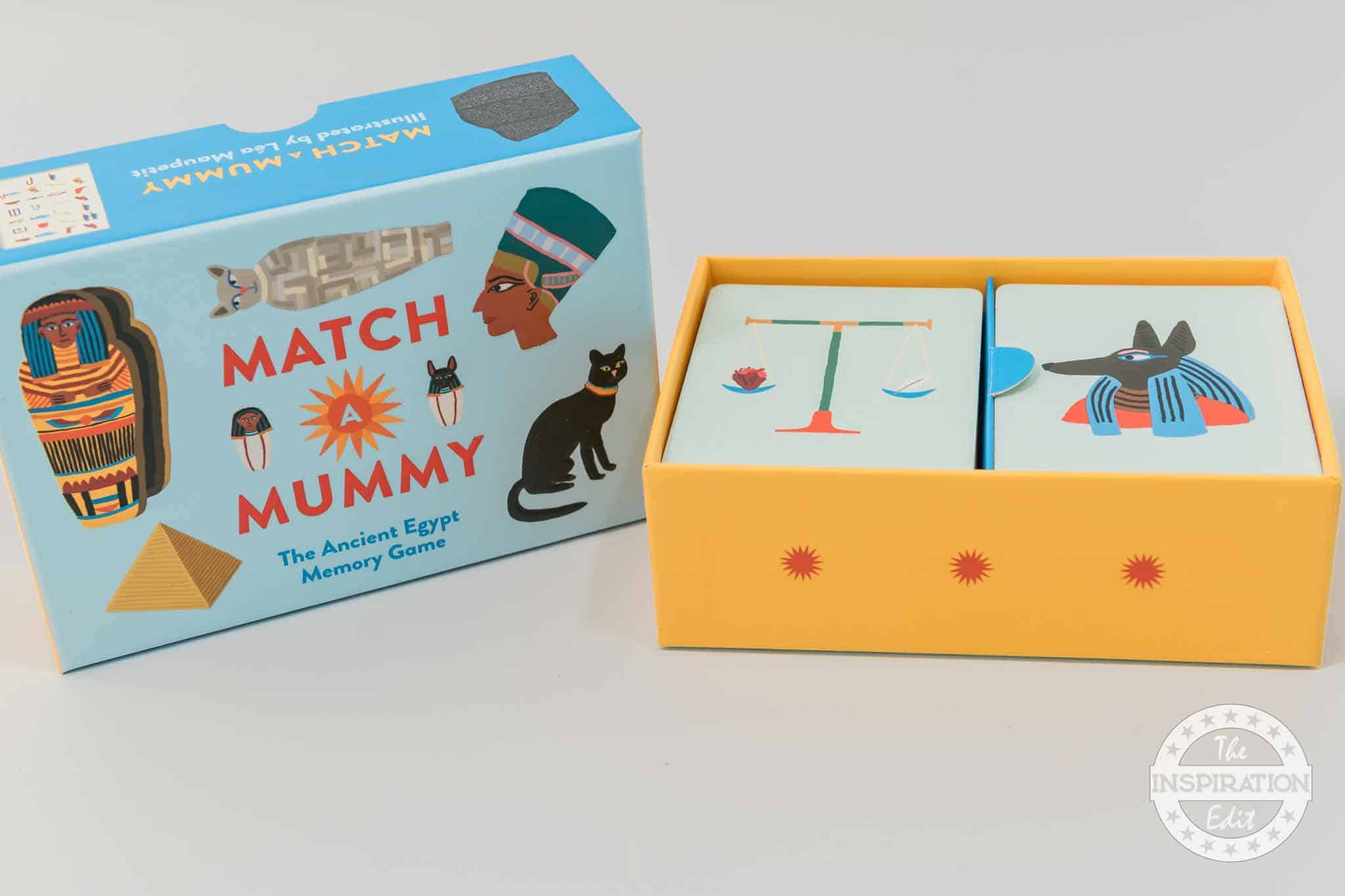 mummy memory game