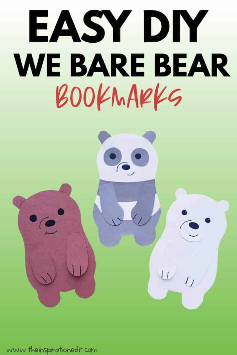 BARE BEAR BOOKMARKS