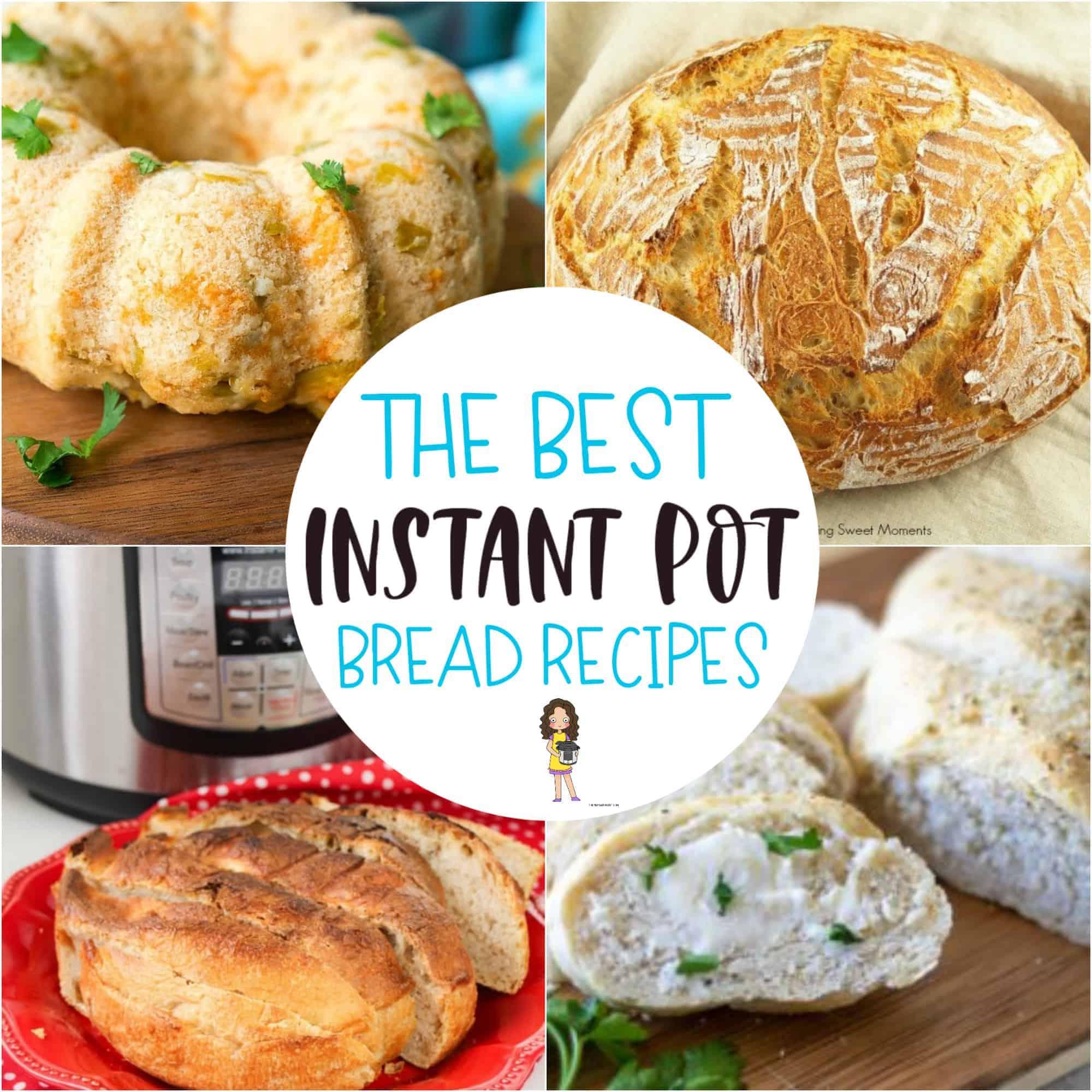 instant pot bread recipe
