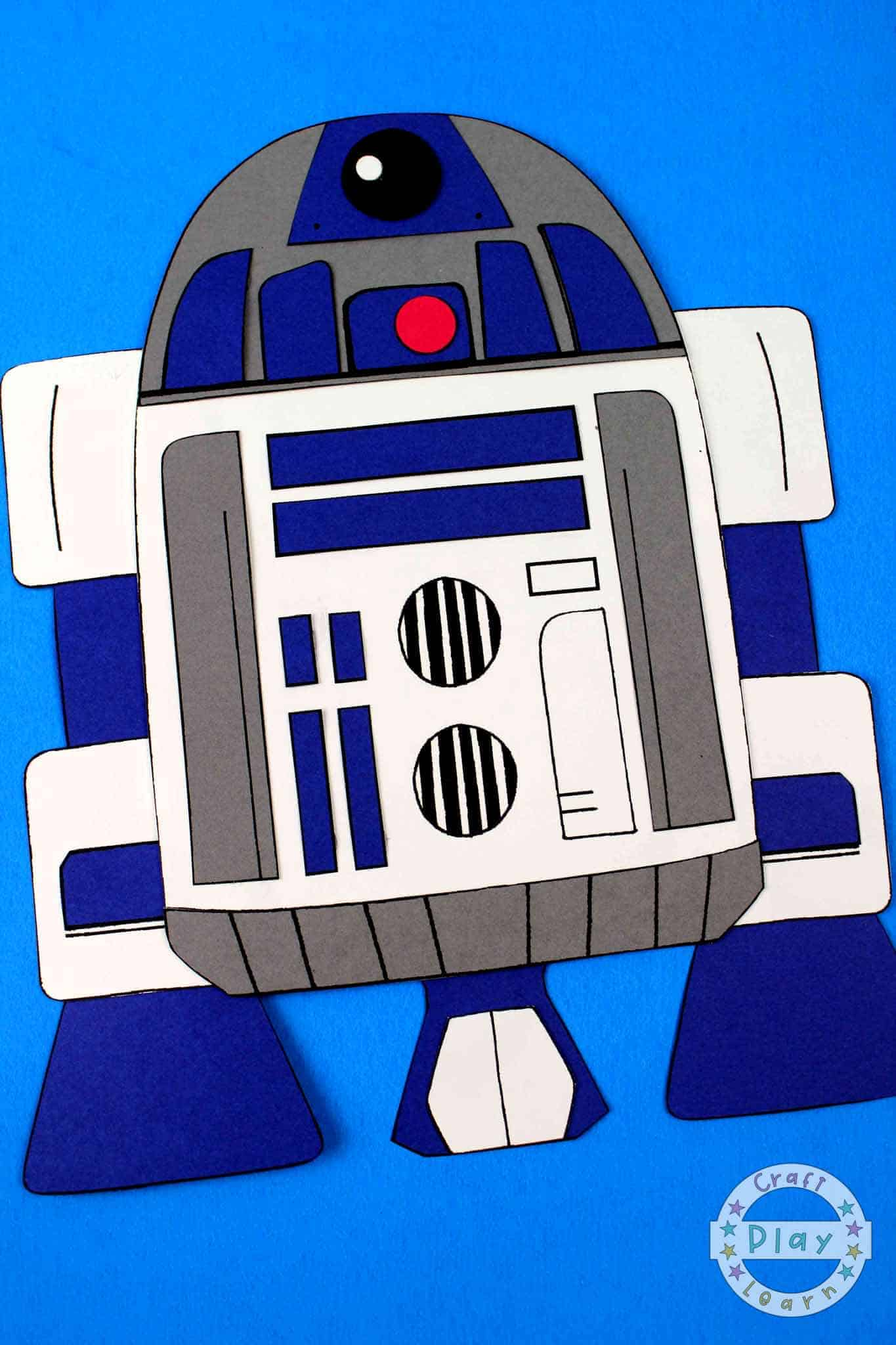 r2d2 craft for. star wars fans