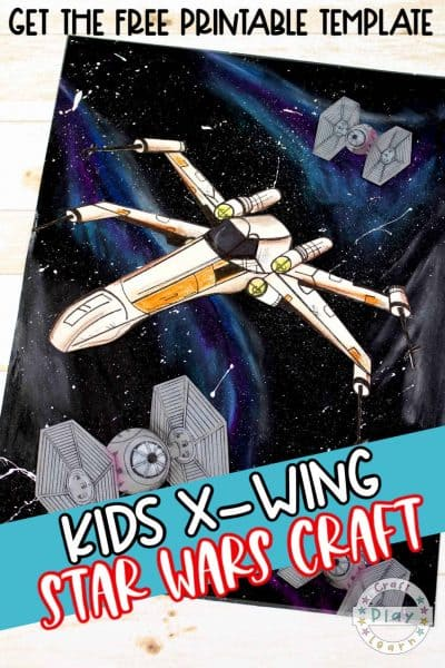 x wing fighter craft for kids