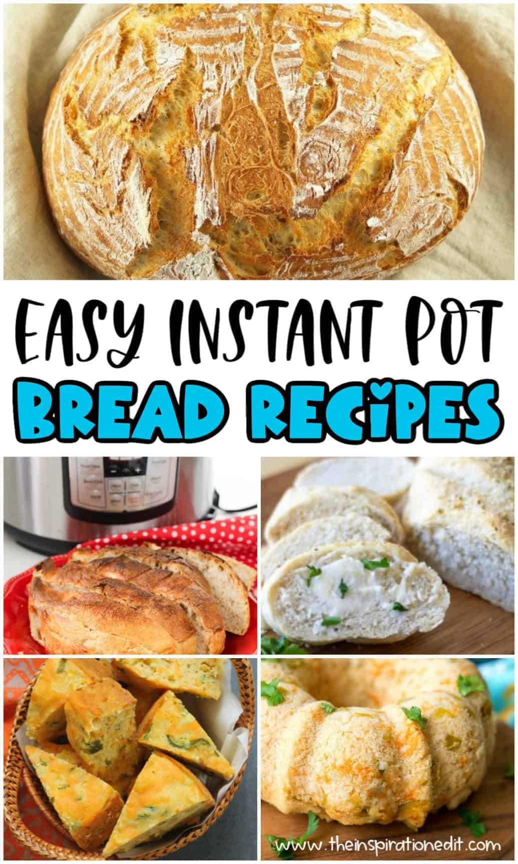 easy instant pot bread recipes