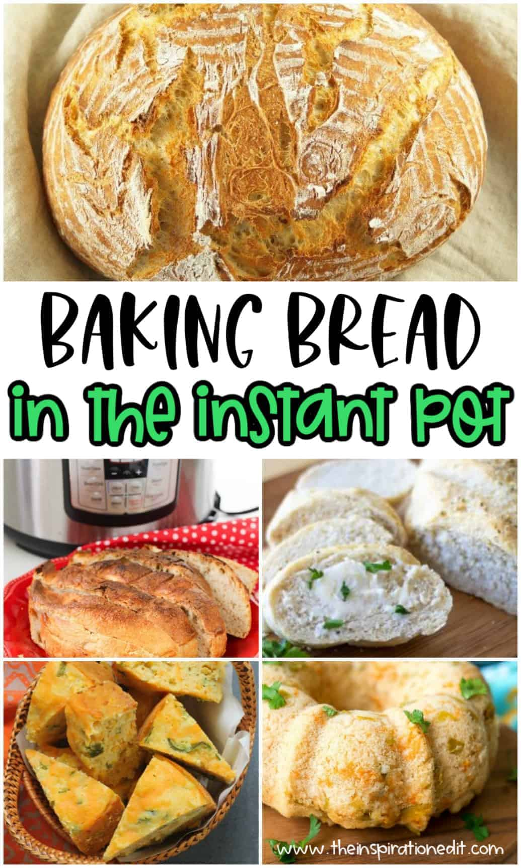 hot to make bread in the instant pot