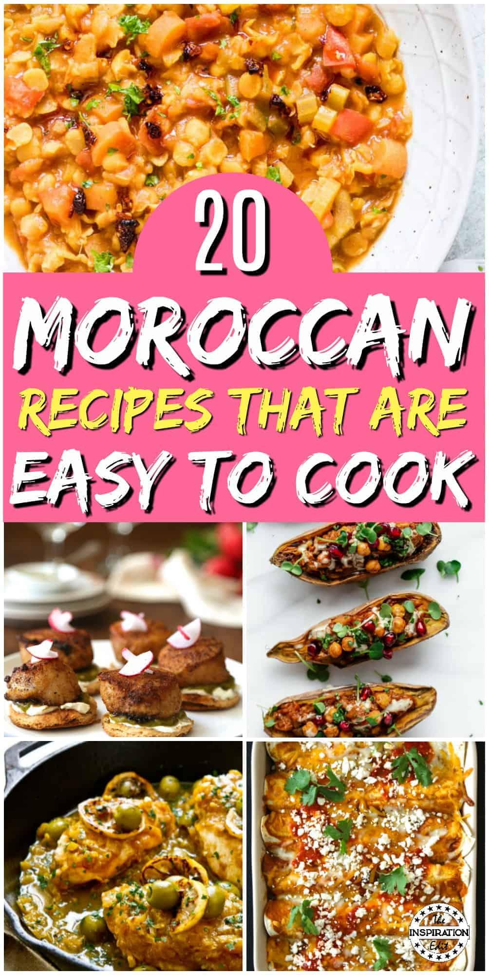 Easy Moroccan recipes you will love