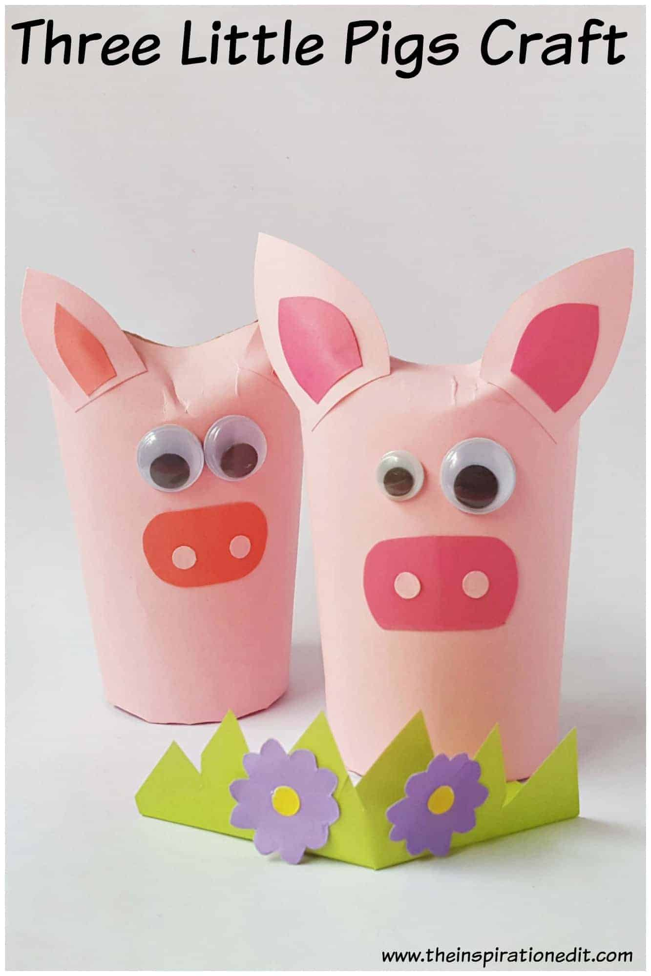 toilet tube pig craft