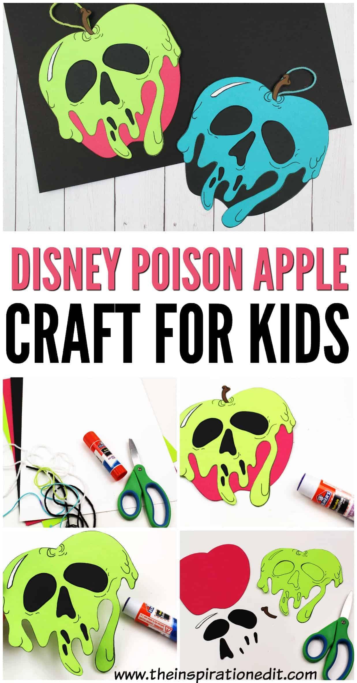 disney poison apples pin