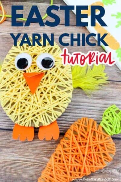 easter yarn craft