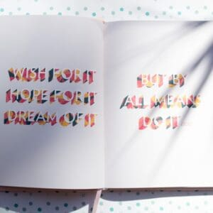 journal writing and goals