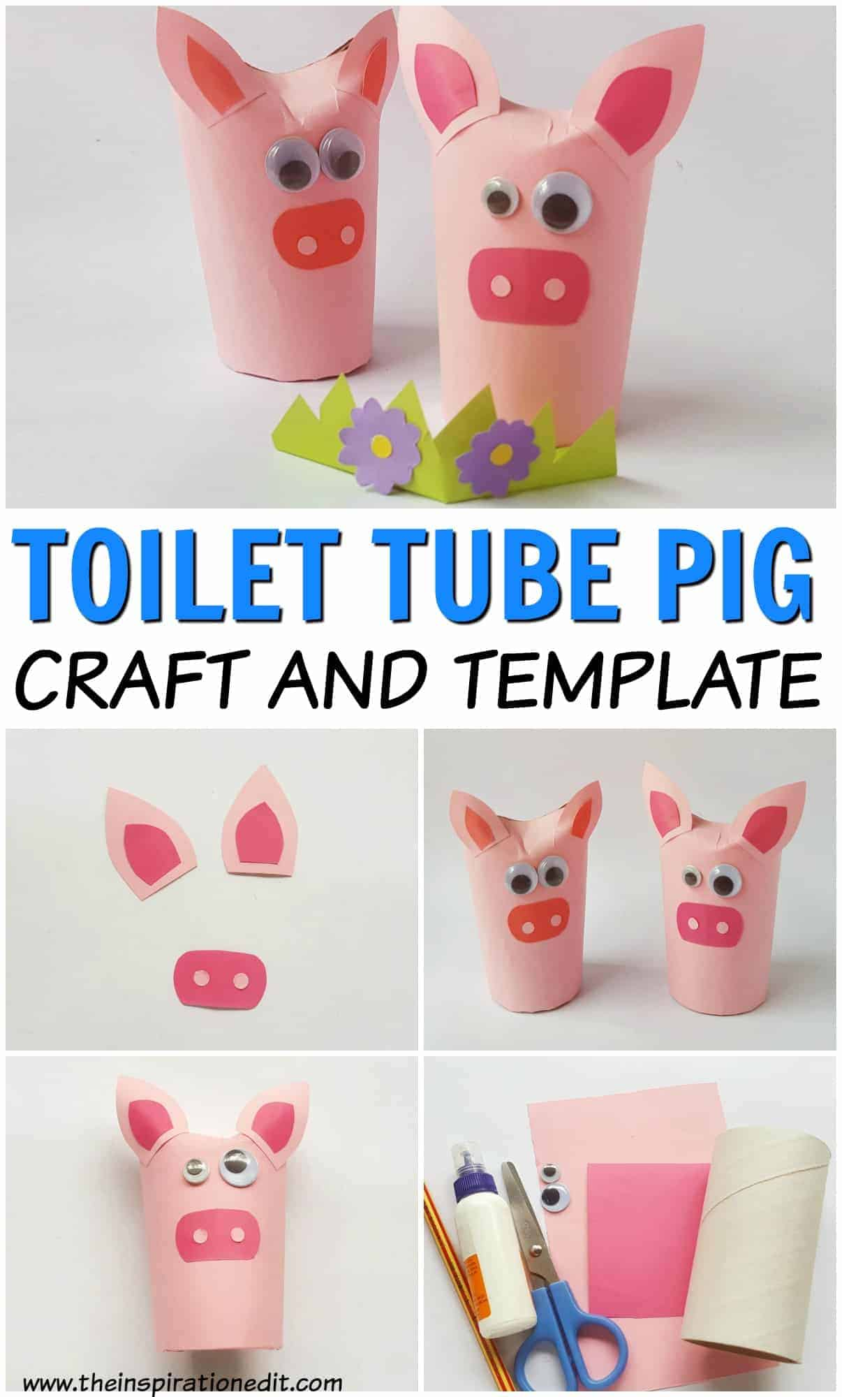 The Three Little Pigs Craft