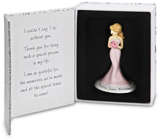 junior bridesmaid ornament