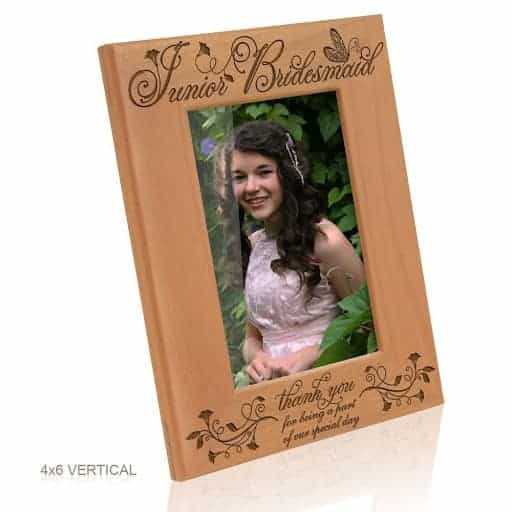 junior bridesmaid photo frame