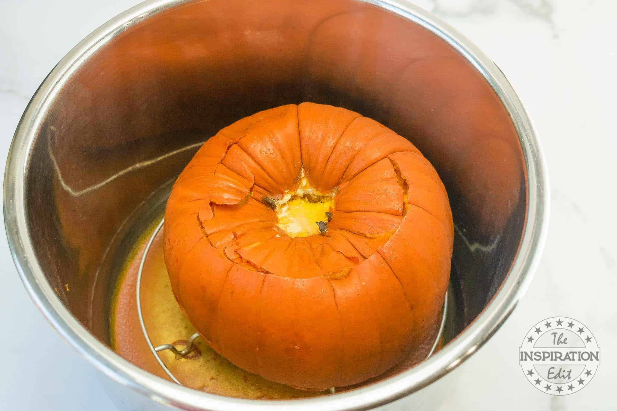 cooking a whole pumpkin in the instant pot