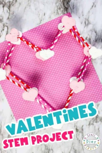Valentine's Day STEM Activities: 3 Dimensional Heart