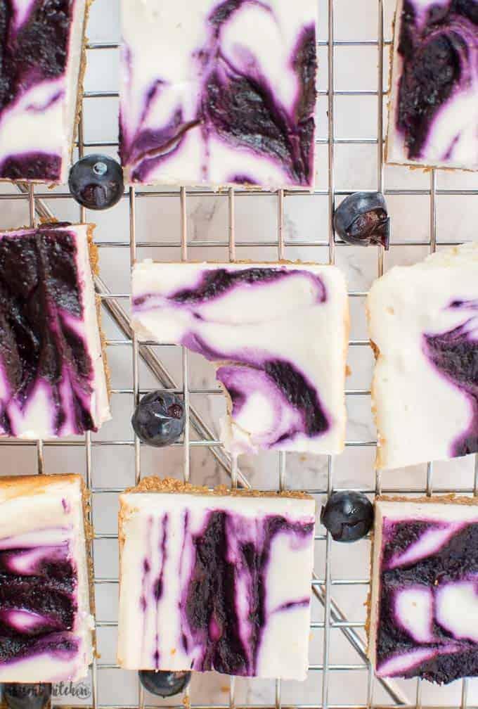 grape cheesecake