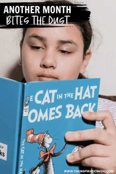 CHILD READING CAT IN THE HAT