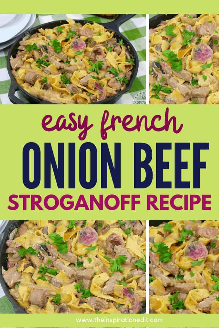 easy french onion beef stroganoff recipe