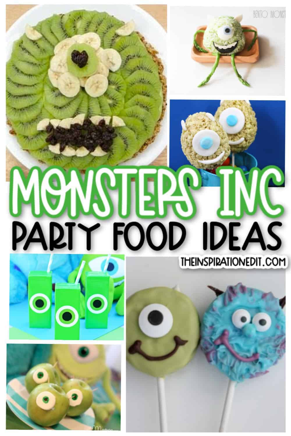 Monsters Inc Mike Wasowski Food Ideas The Inspiration Edit