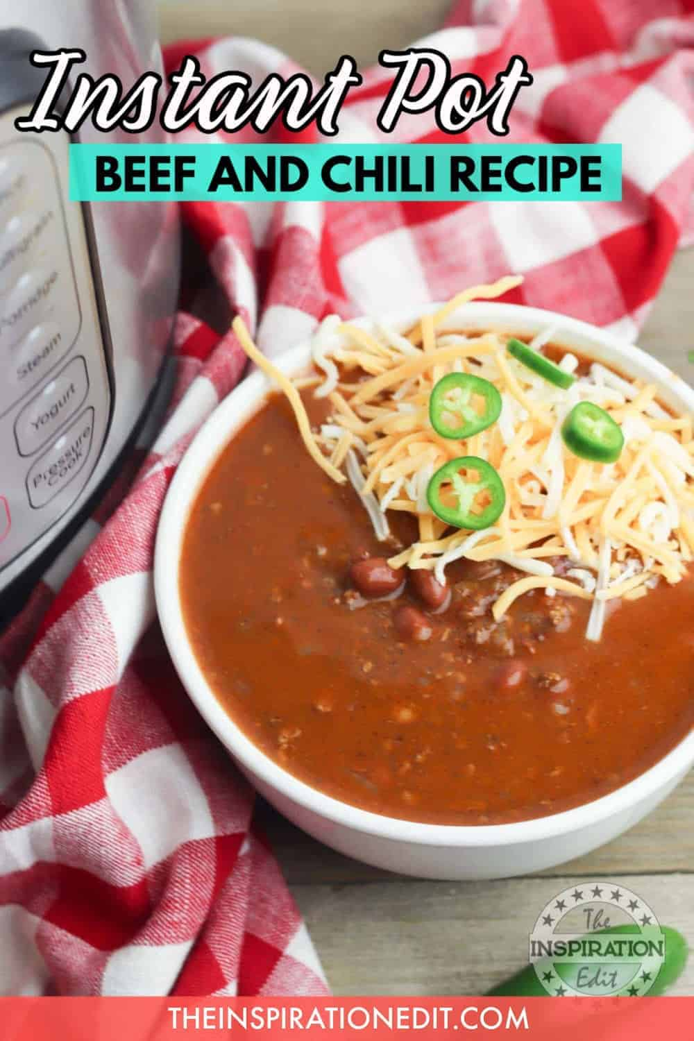 Instant Pot Beef And Chili Recipe