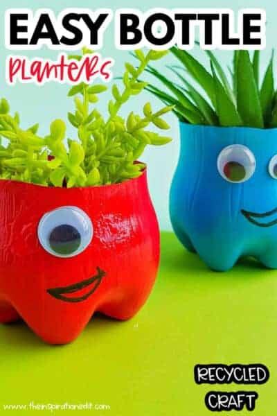 bottle planters