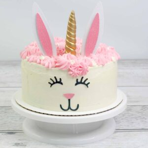 bunny unicorn cake