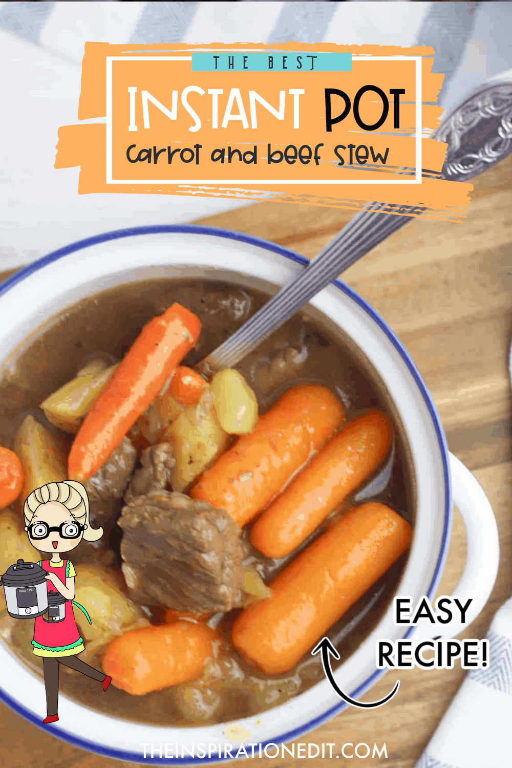 instant pot beef stew with carrots