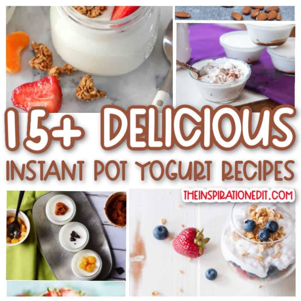 instant pot yogurt recipes