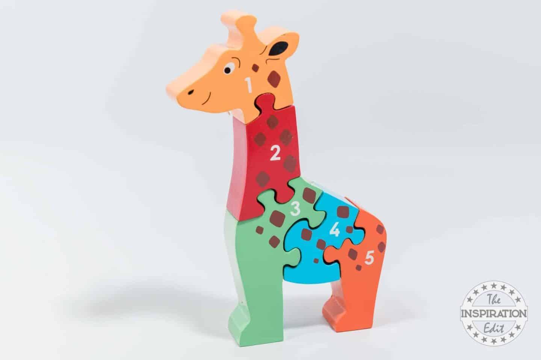 Lanka Kade Wooden Giraffe Jigsaw Puzzle