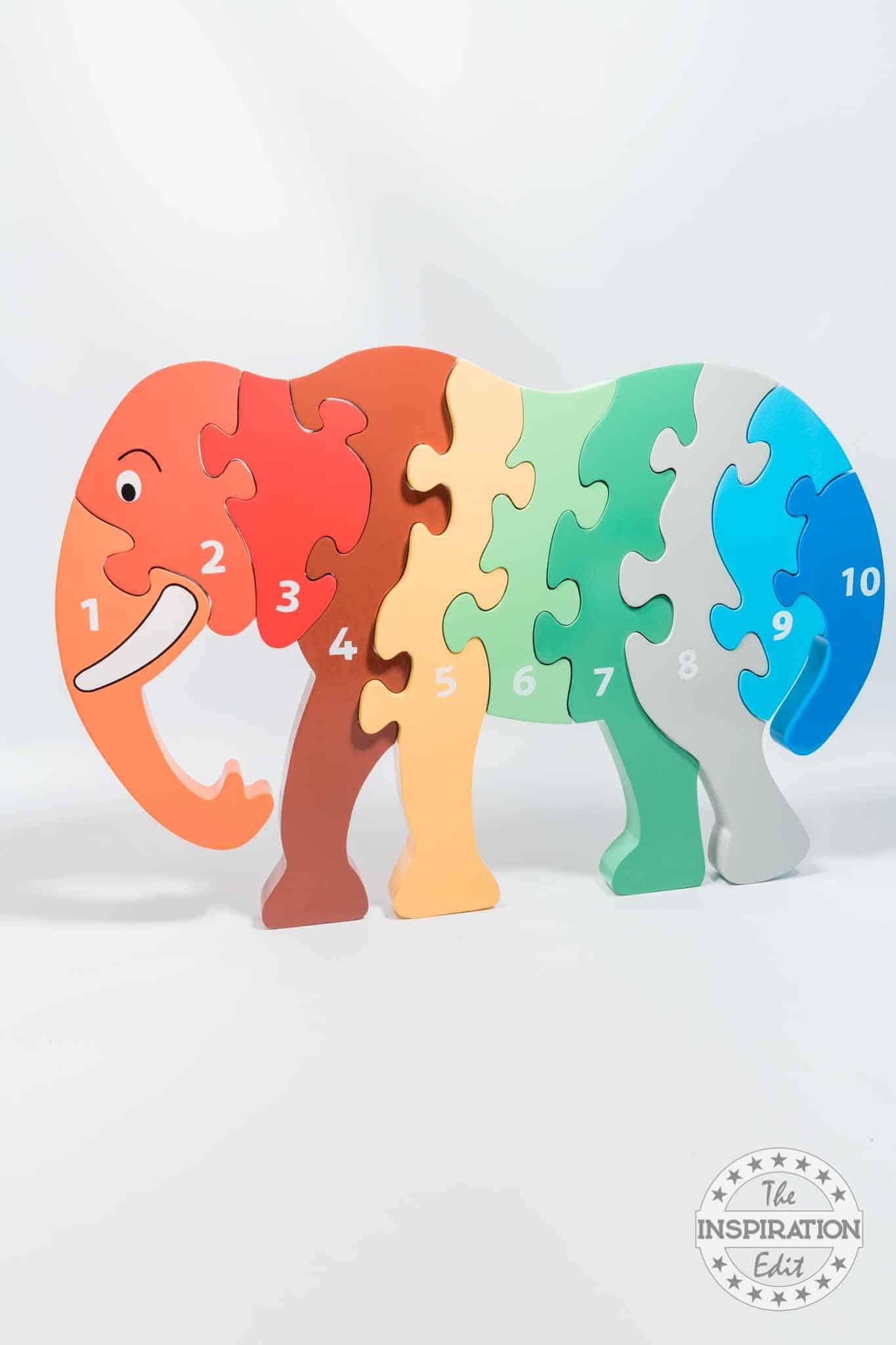Jumbo Elephant Jigsaw Puzzle