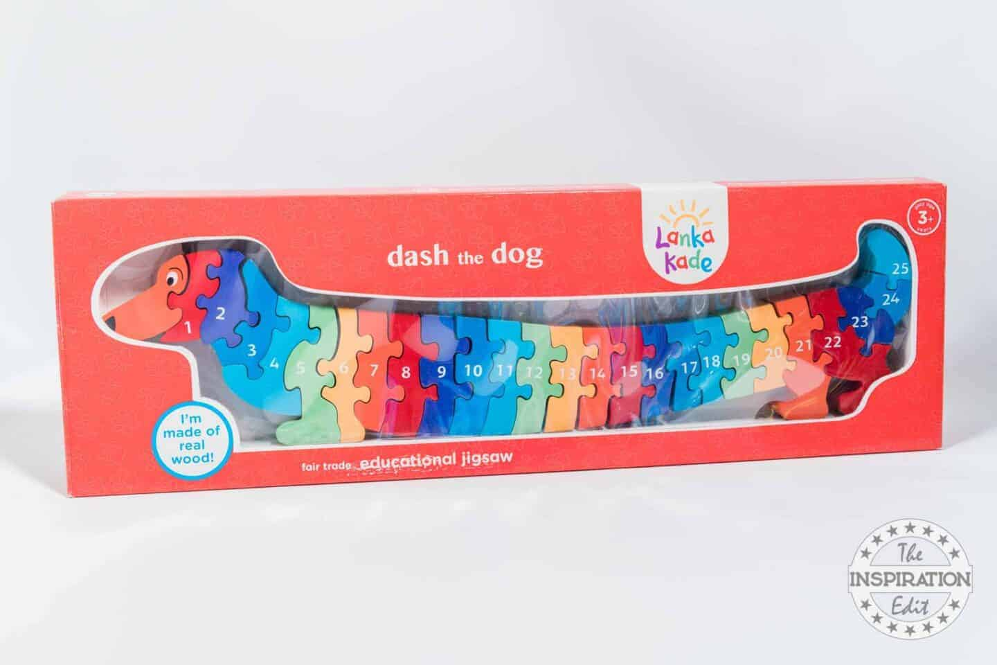 Wooden Sausage Dog Numeracy Puzzle
