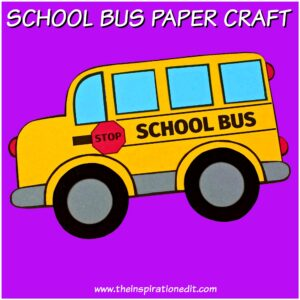school bus craft for kids