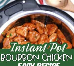 Instant Pot Bourbon Chicken IN THE POT