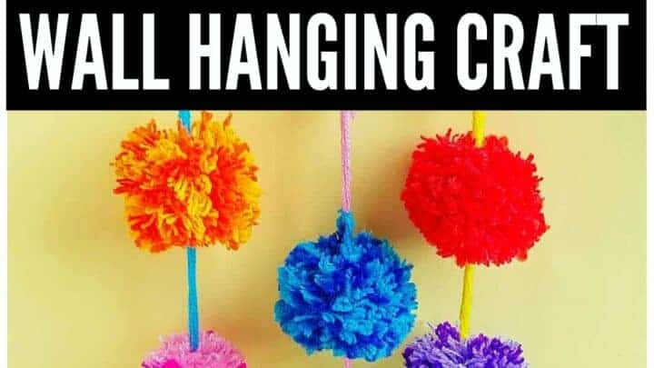 POM POM WALL Hanging craft