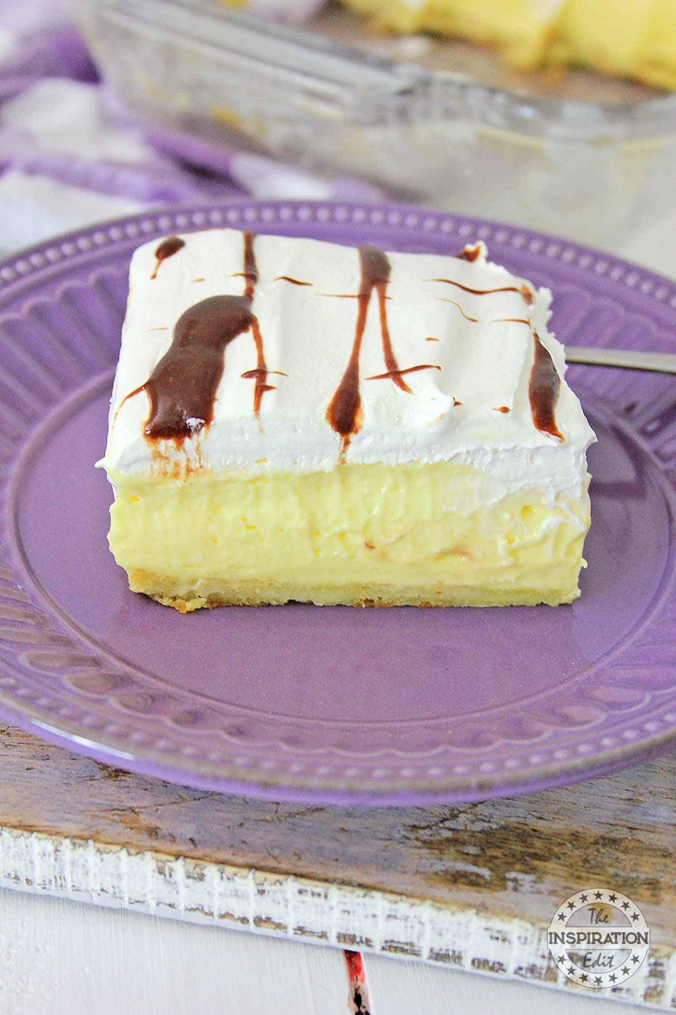 Vanilla Eclair Cake