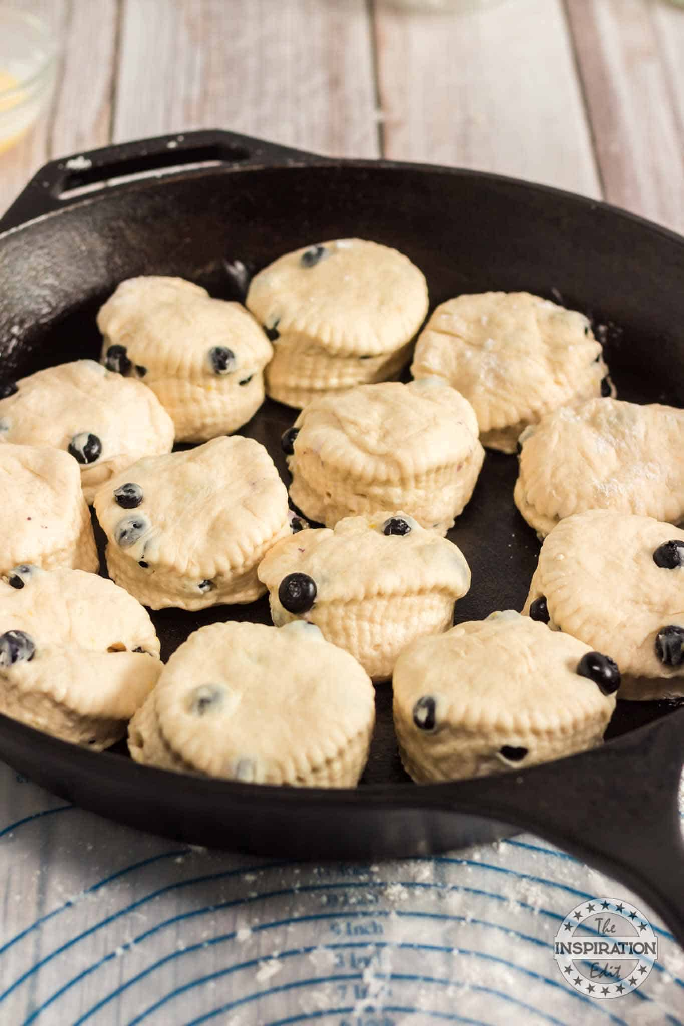 Blueberry Angel Biscuits