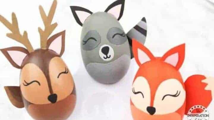 woodland animals craft for kids