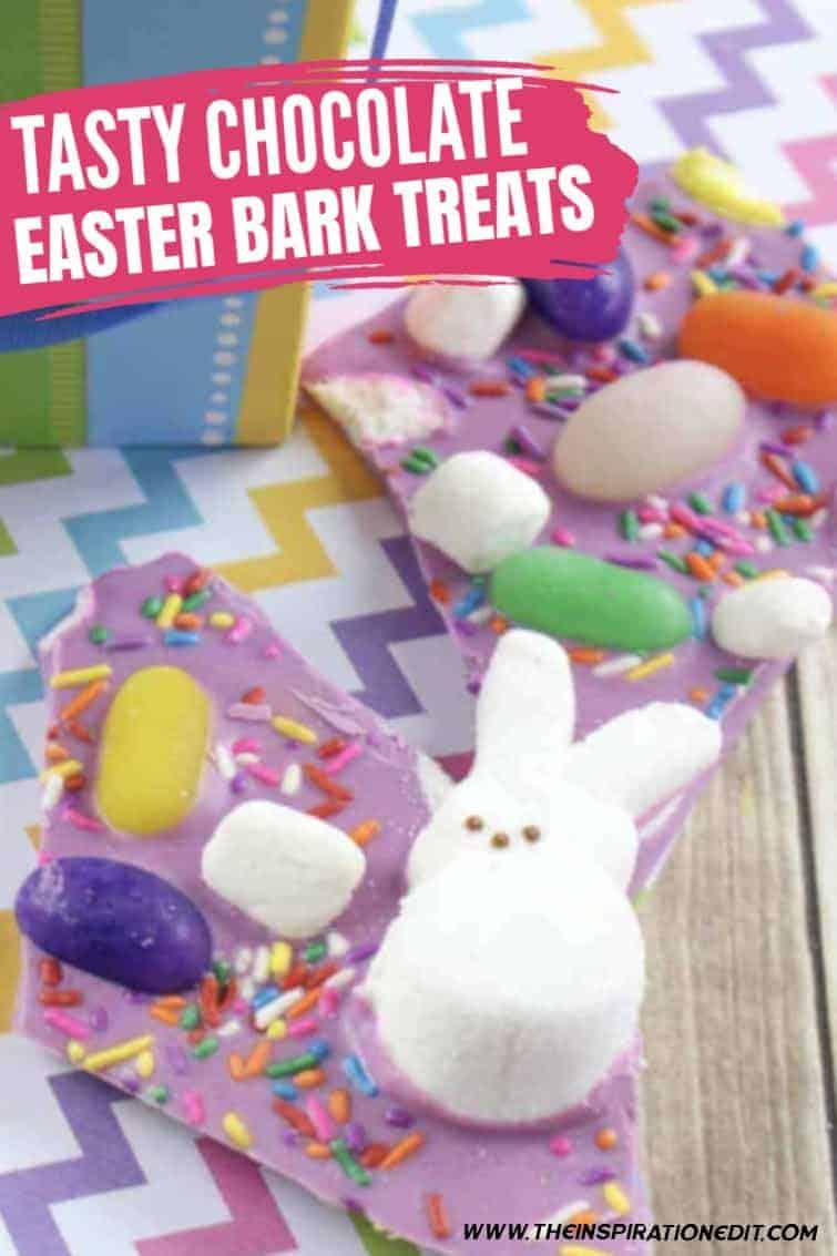 easter bunny bark recipe