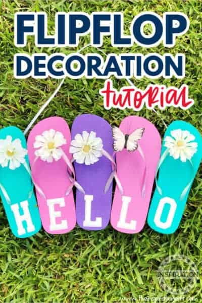 flipflop decoration