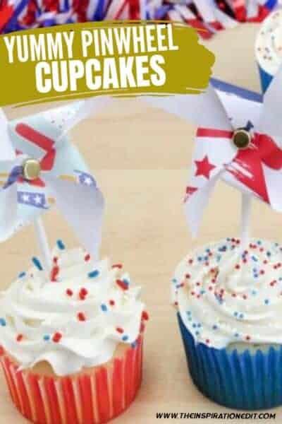 july 4th pinwheel cupcakes