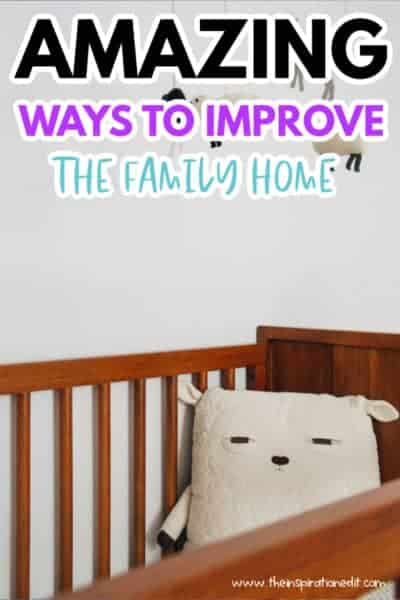 ways to improve the family home