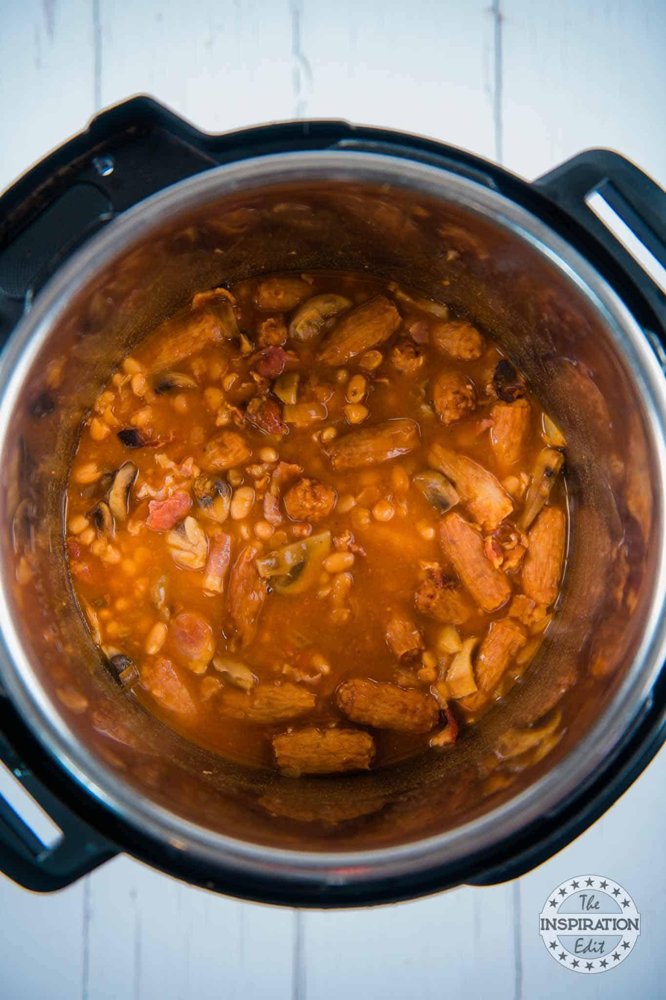 instant pot cowboy casserole