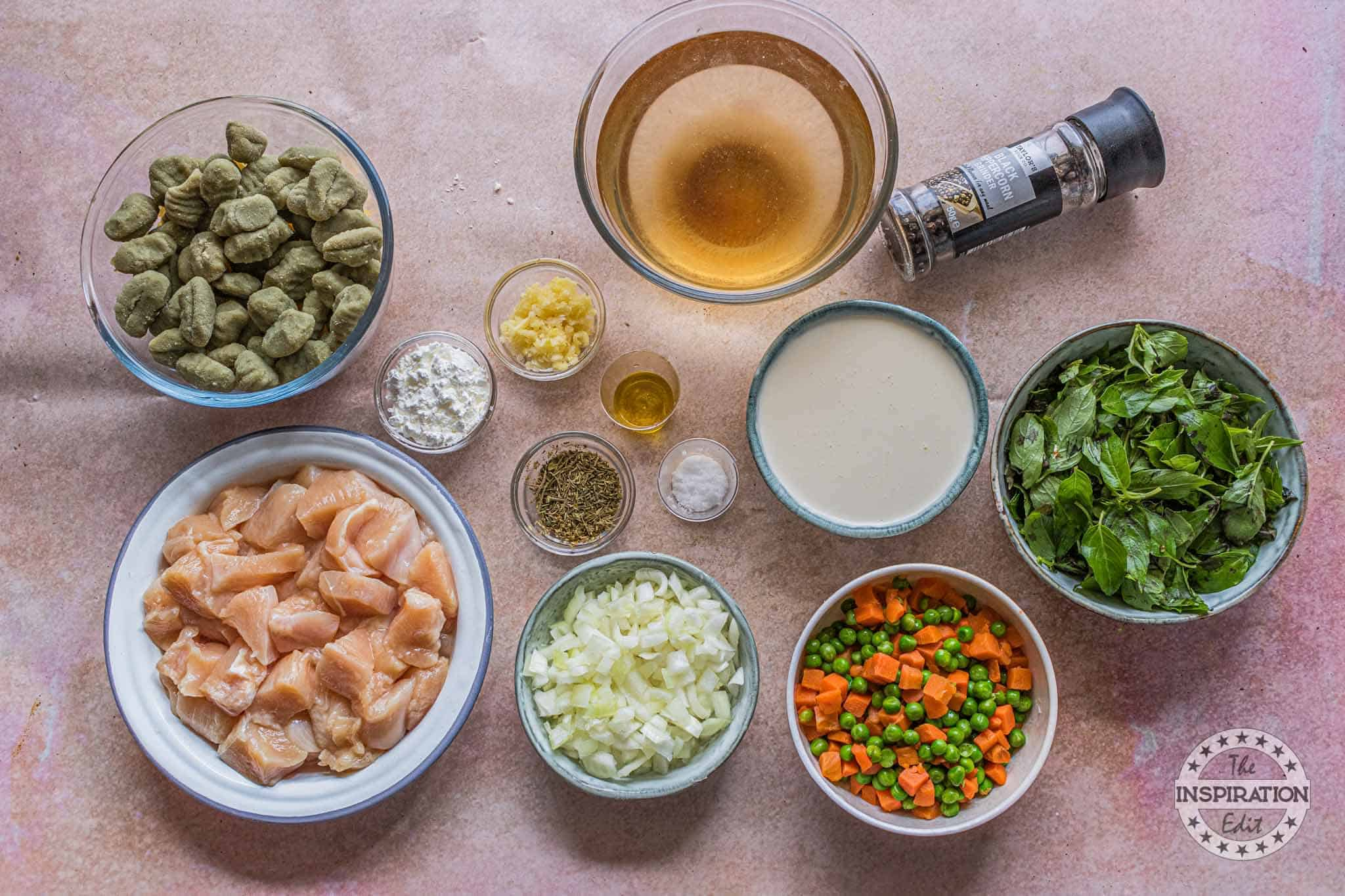 ingredients for instant pot chicken gnocchi soup