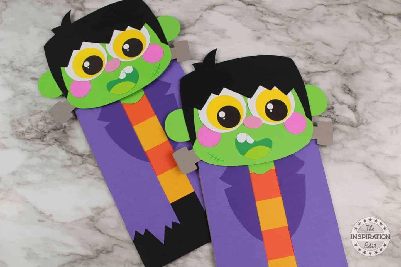 Frankenstein puppet