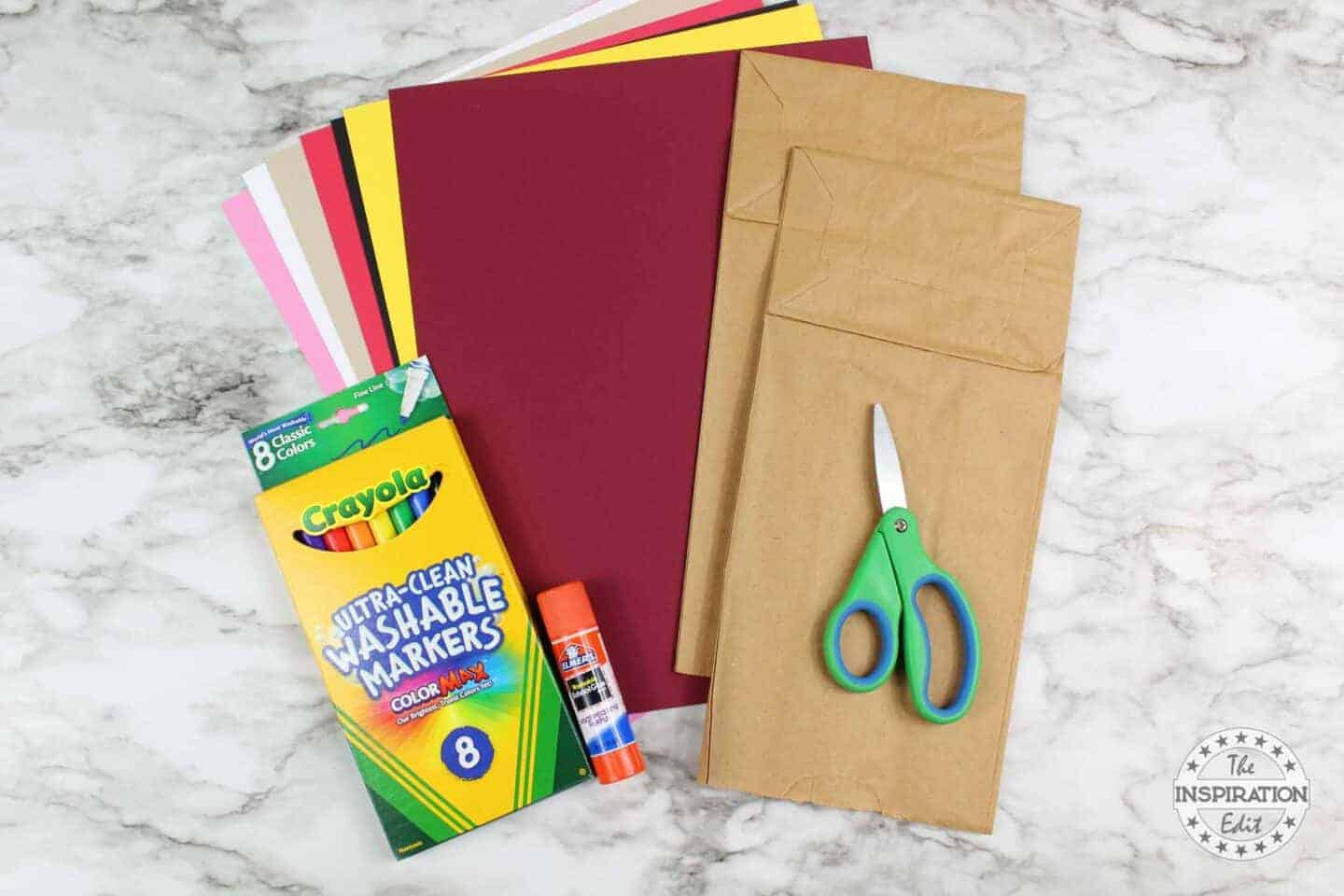supplies and cardsotock for vampire craft