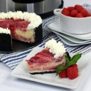 instant pot raspberry cheesecake recipe