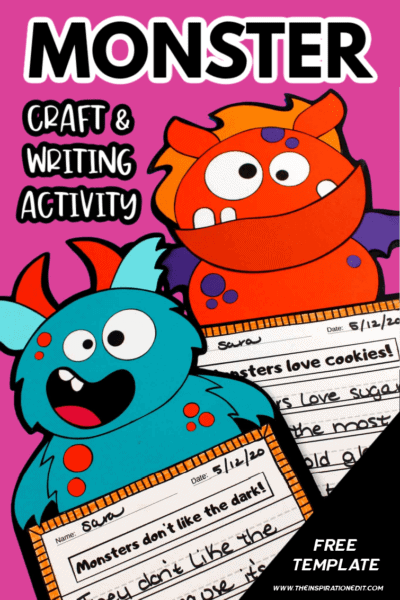 Monster-craft-and-writing-activity-