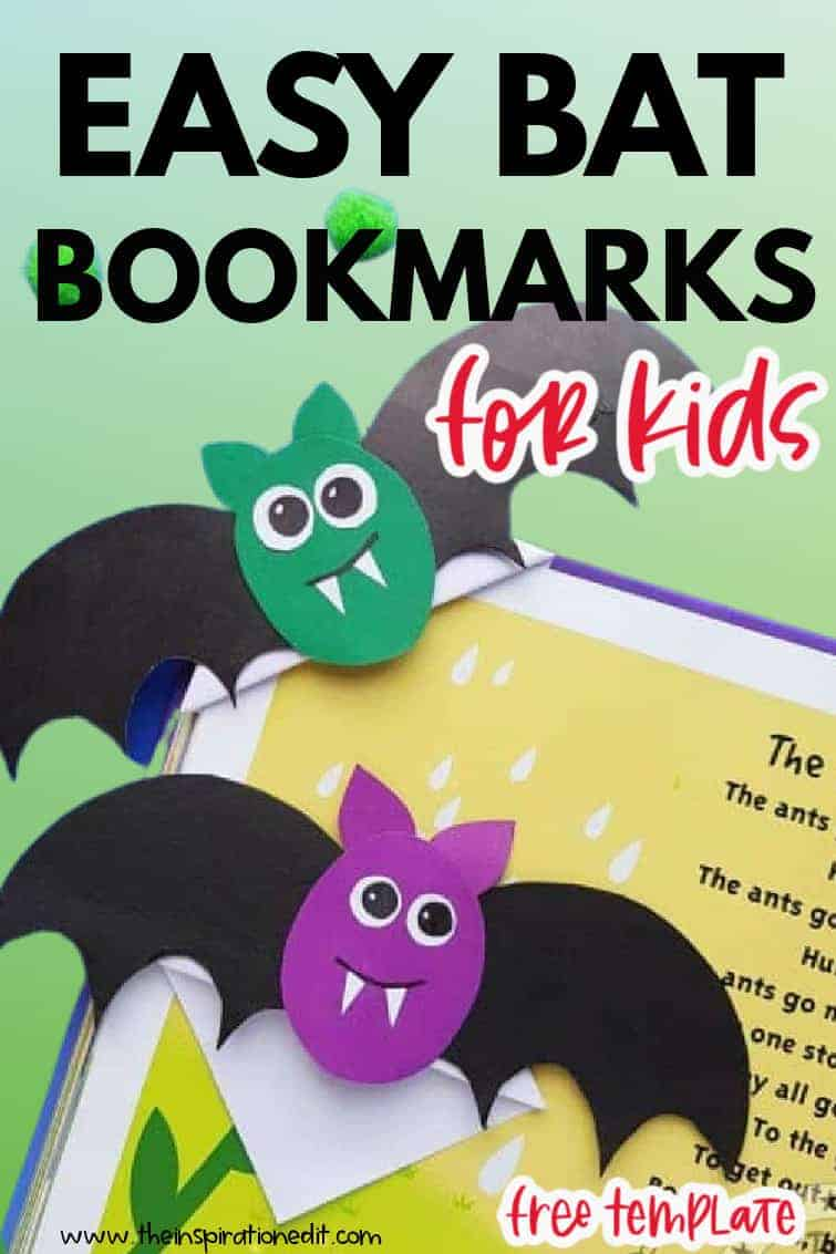 bat corner bookmarks