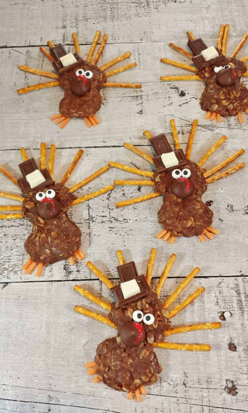 turkey no bake treats