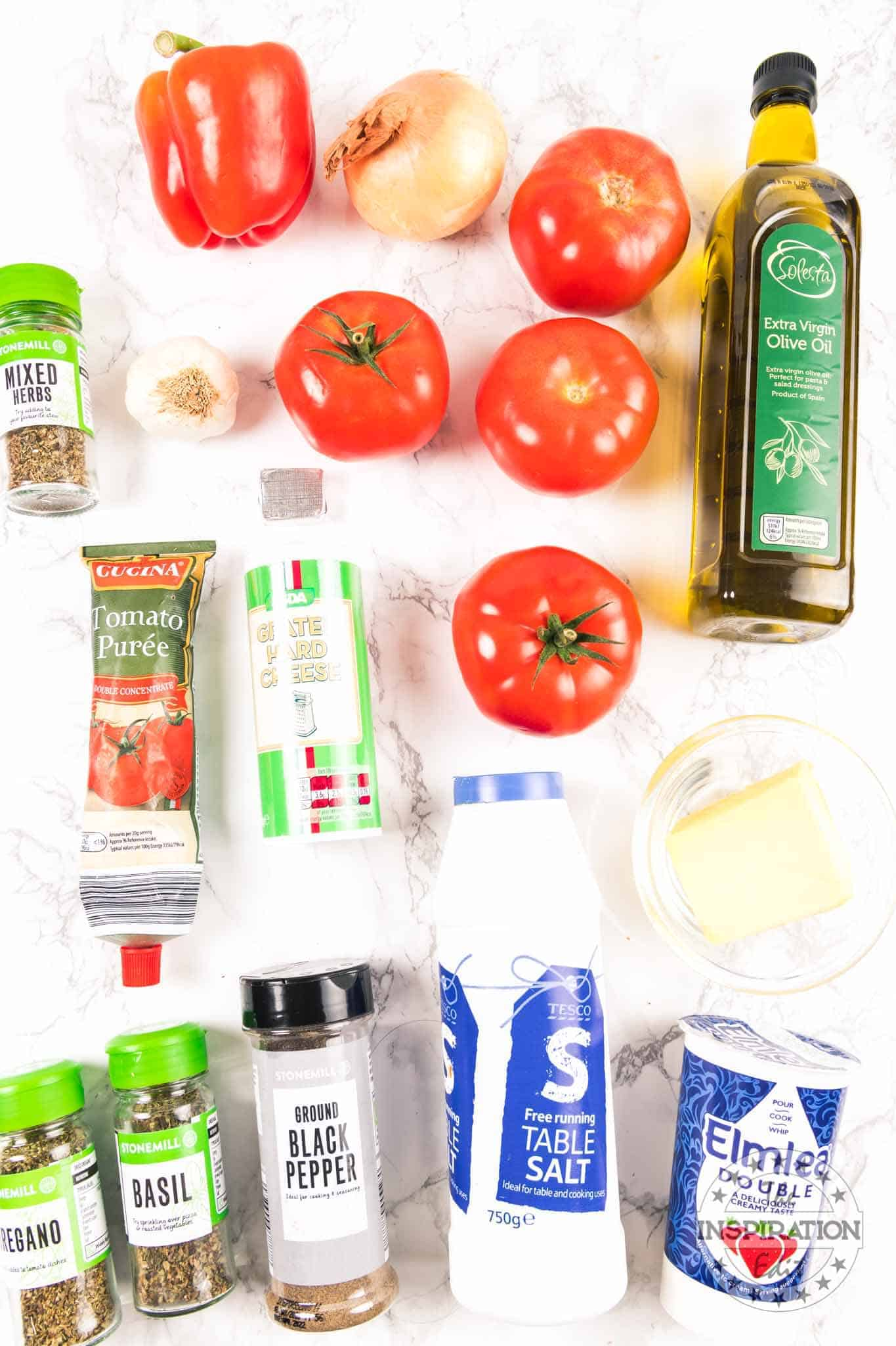 instant pot tomato soup ingredients