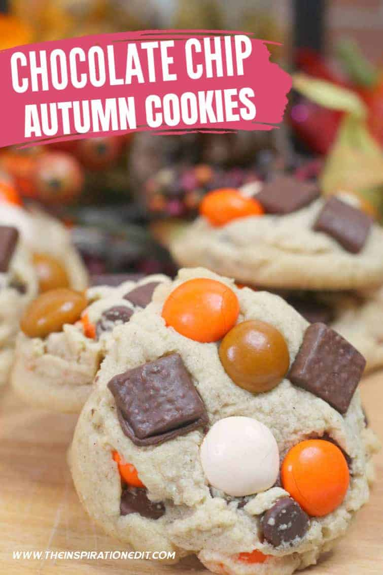 Chocolate-chip-autumn-cookies-