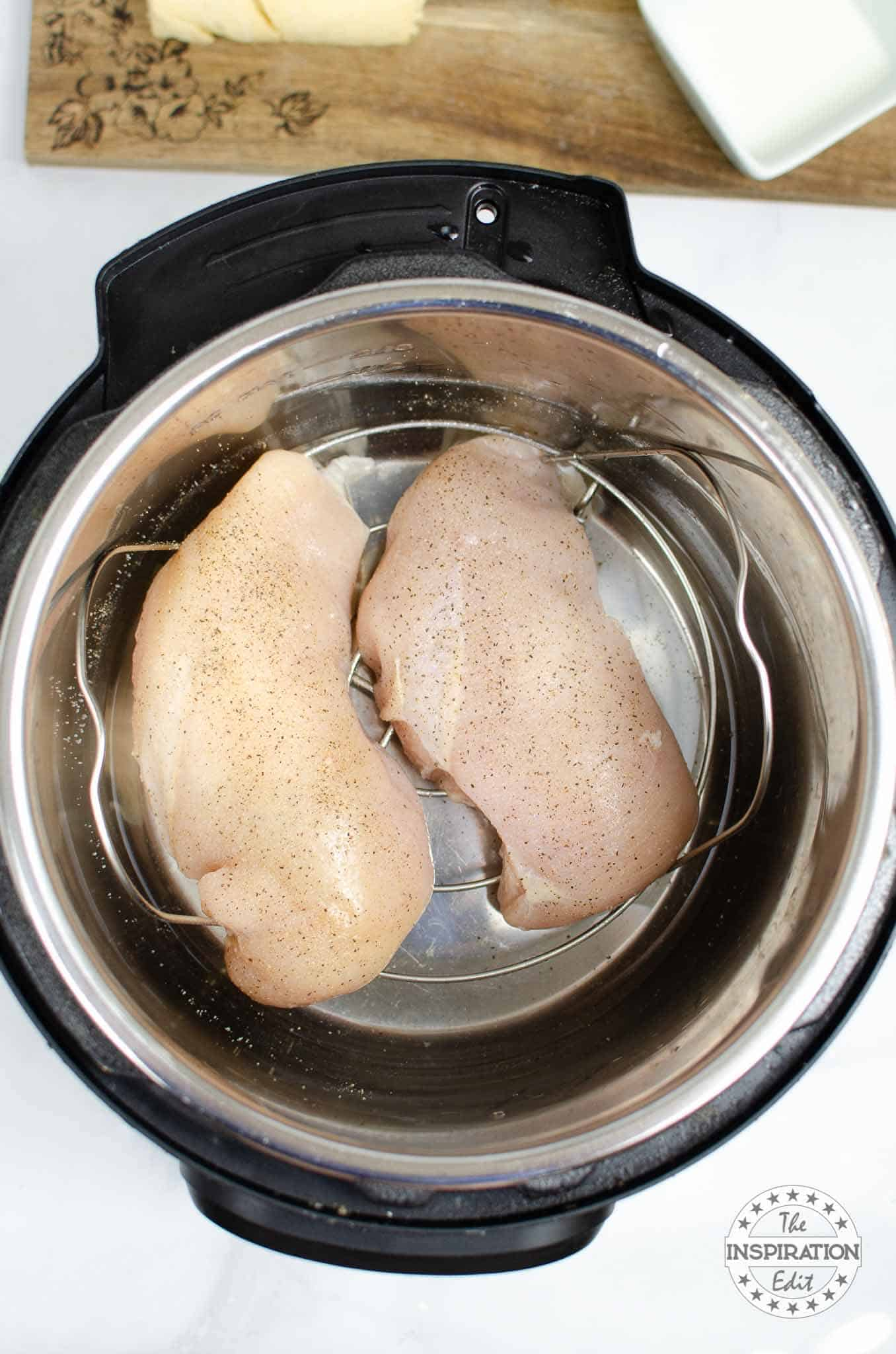 Cooking chicken breast in the instant pot